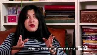 """Marjane Satrapi : film """"Poulet aux prunes"""" - Entrée libre"""
