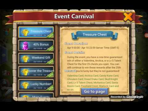 Castle Clash Opening 25 Treasure Chests. Crazy MUST SEE.. Is My Luck Changing A Little..