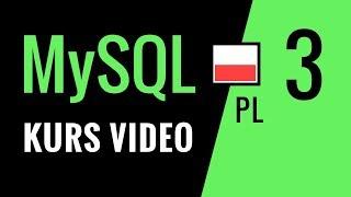 Kurs MySQL odc. 3: Zapytania INSERT i UPDATE