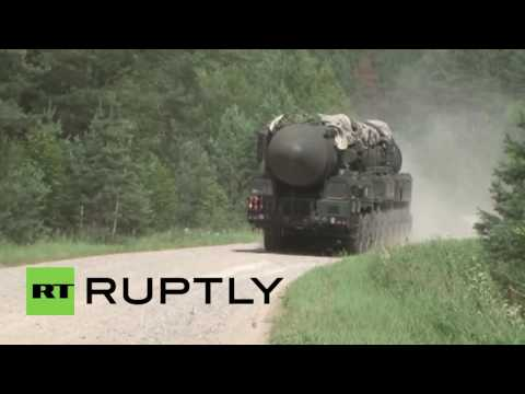Russia: Ballistic missiles deployed in massive drills