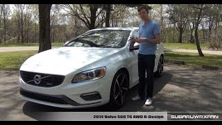 Review 2014 Volvo S60 R Design