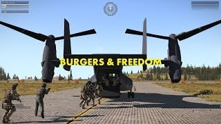 Red White And Blue: Burgers & Freedom Edition