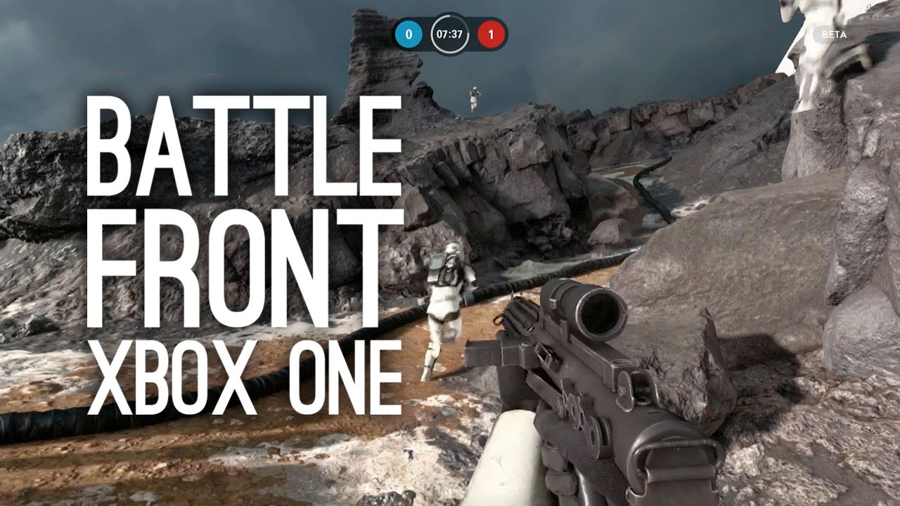 let 39 s play star wars battlefront on xbox one xbox one. Black Bedroom Furniture Sets. Home Design Ideas