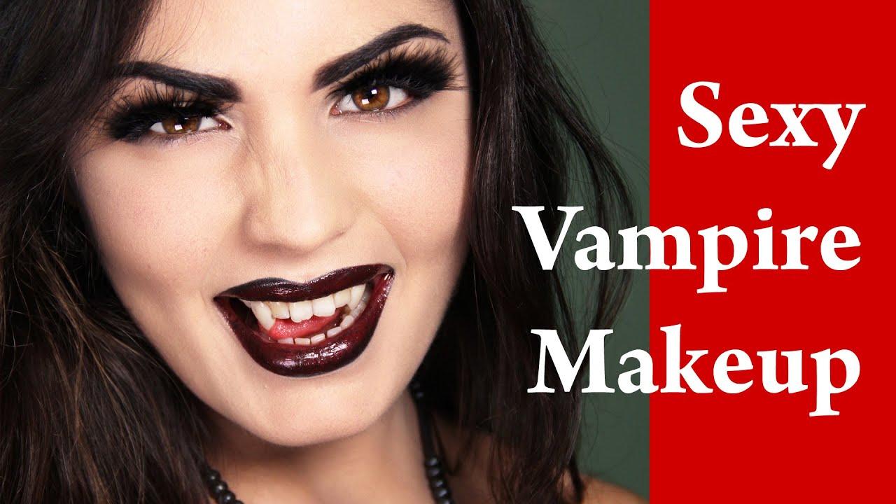 Vampire sexy make up