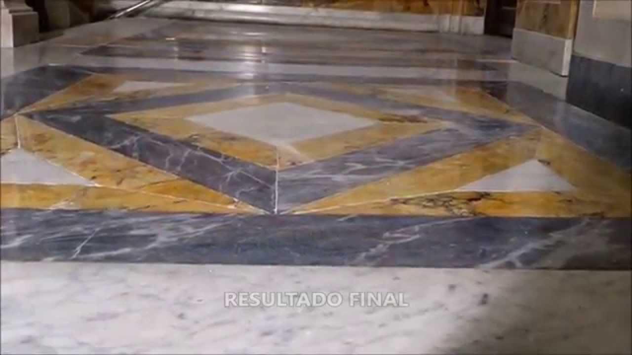 C mo pulir y abrillantar paredes y suelos de m rmol for Como pulir una mesa de marmol