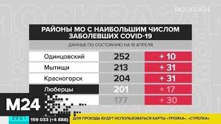 Сложная ситуация с коронавирусом складывается в Одинцове - Москва 24