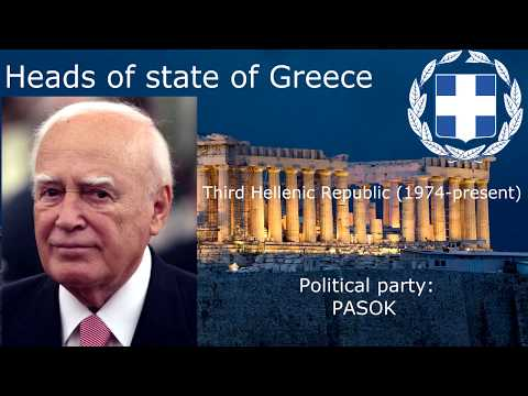 Heads of state of Greece