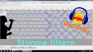 Audacity: Stimme filtern (extrahieren)