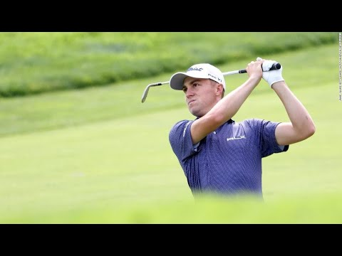 US Open: Justin Thomas leads with record first-round score at ...