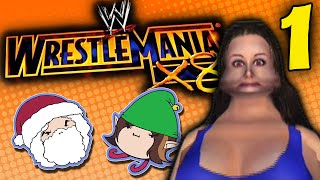 Wrestlemania X8: Soft as Cake - PART 1 - Game Grumps