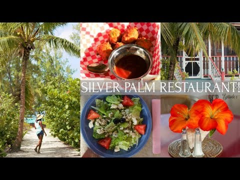 Eating At Silver Palm Restaurant | Turks and Caicos Food Series | Ep. 1