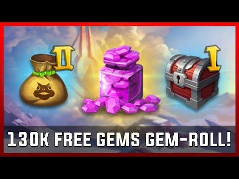 130k Free Gems Gem-Roll! | Castle Clash [REUPLOAD]