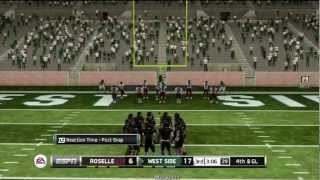 NCAA FOOTBALL 13 - Ranking National Championship Teams from Last Decade #9 2007 LSU Ep.2