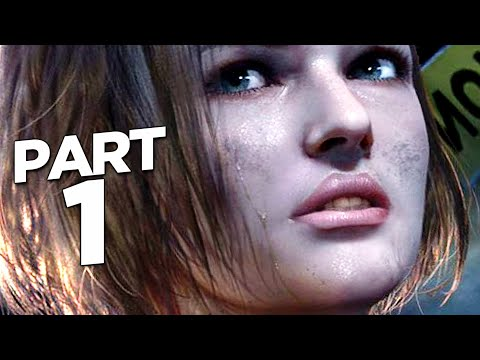 RESIDENT EVIL 3 REMAKE Walkthrough Gameplay Part 1 - INTRO (RE3 NEMESIS)