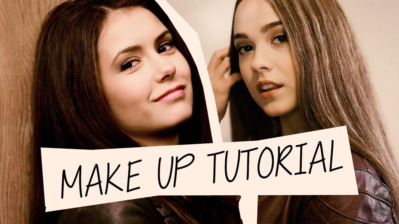 vampire diaries makeup tutorial inspired by elena