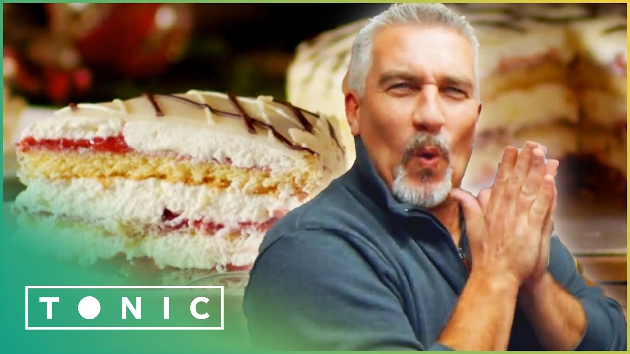 White Lady, The Classy Norwegian Cake That Captivated Paul | Paul Hollywood's City Bakes | Toni