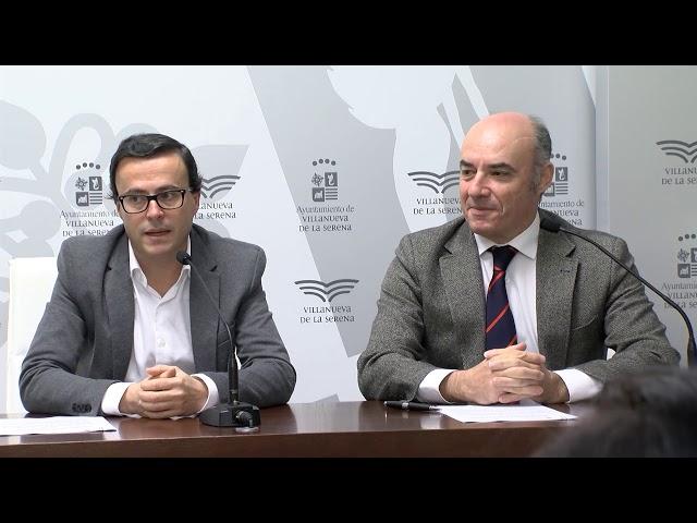Firmado un convenio de colaboración entre el Ayuntamiento y la Cámara de Badajoz