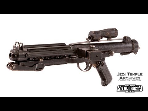 500th Star Wars Review: BlasTech E-11 Stormtrooper Rifle (Scratchbuilt Prop Replica)