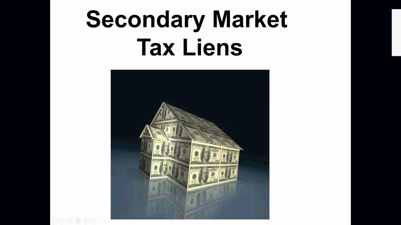 Crash Course Training 4 Strategies Of Tax Lien Certificates Tax