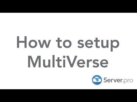 How to setup MultiVerse on your minecraft server - Server.pro