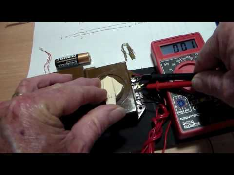 Wiring LED bulbs for slot cars Trains and landscapes