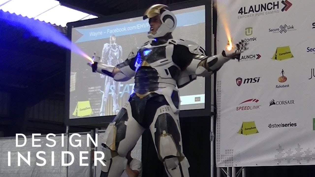 Cosplay Iron Man Suit Actually Works