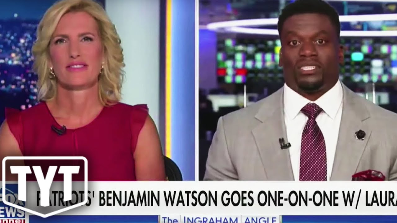Laura Ingraham SCHOOLED By NFL Player