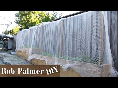 Garden Bed Netting | DIY Build