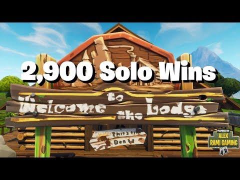 #1 Fortnite World Record 2,900 Solo Wins | Fortnite Live Stream | New Fortnite Skin