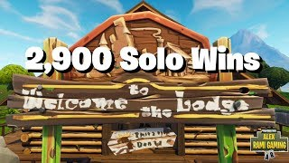 #1 Fortnite World Record 2,900 Solo Wins | Fortnite Live Stream | New Fortnite Skin