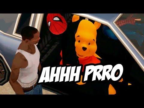 El video de GTA SAN ANDREAS con MODS que me BORRARON