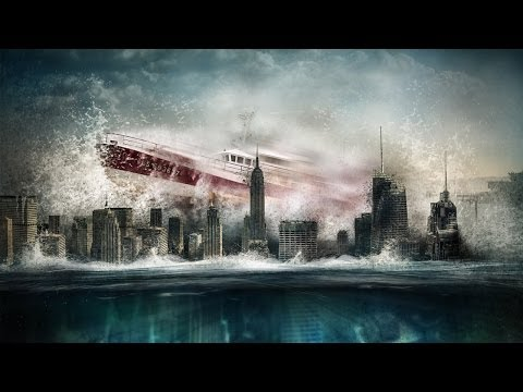 Photoshop Speed Art - Manhattan UnderWater
