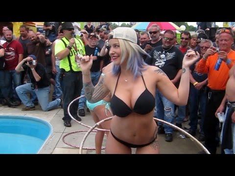 Ohio Bike Week 2015 Bikini Contest