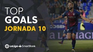 Todos los goles de la Jornada 10 de LaLiga SmartBank 2019/2020