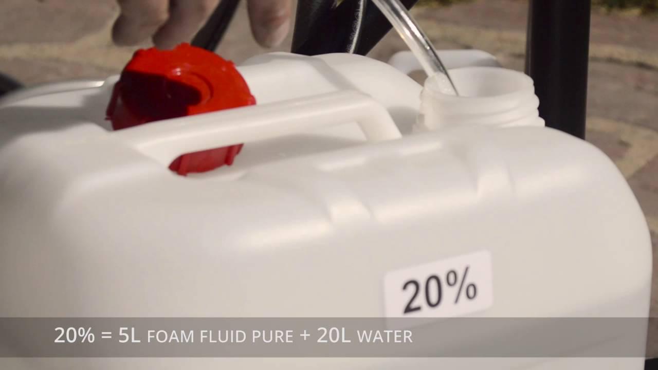 F3 Foam Cannon - Basic Installation