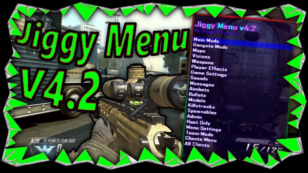 [PS3/BO2/1 19] 2 19 Black Ops 2 Jiggy FREE Mod Menu GSC Lobby + DOWNLOAD