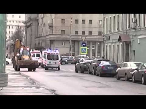4 car the center of emergency medicine, Moscow, Russia