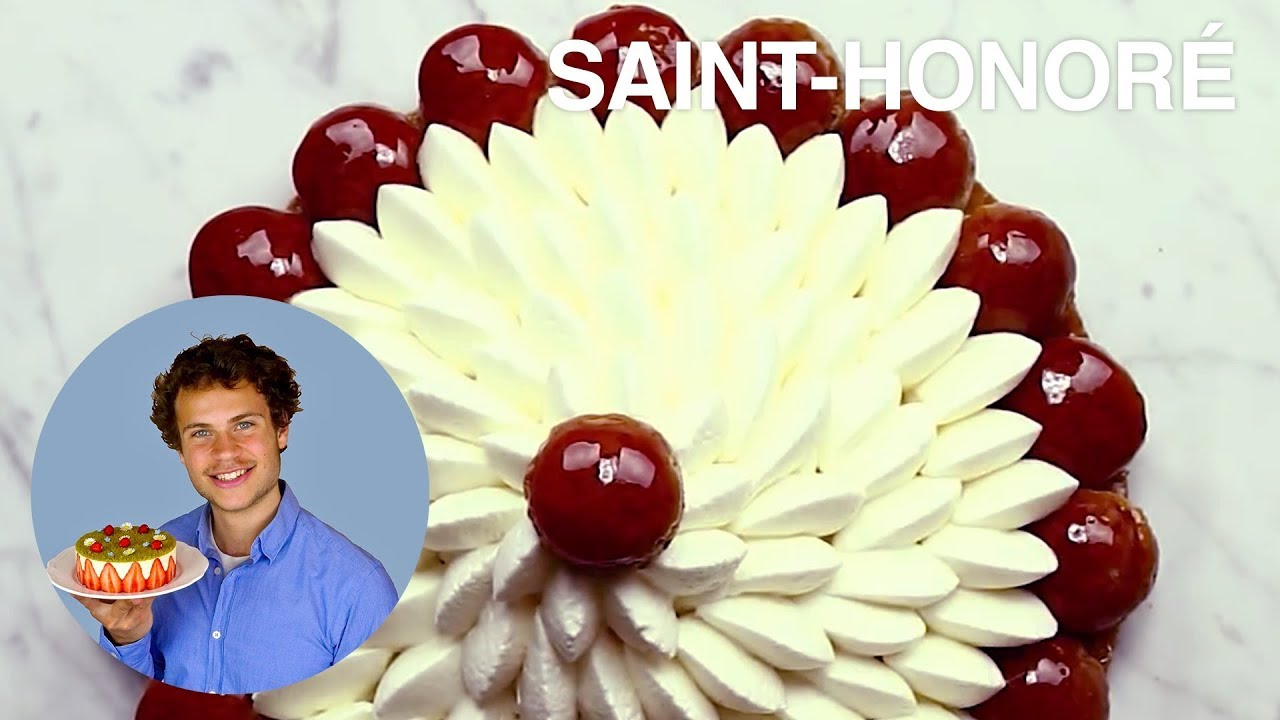 Gateau saint honore video