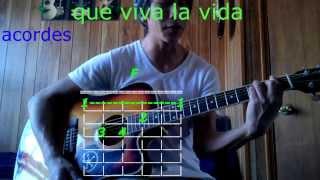 que viva la vida wisin y yandel acordes en guitarra