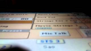 """""""CHIỀU HẠ VÀNG"""" - KORG PA900 - DIỆU VĨNH LINH"""