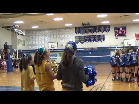 BC High School Girls  AA Volleyball MEI vs LCS Provincial Final 2016 5th Set