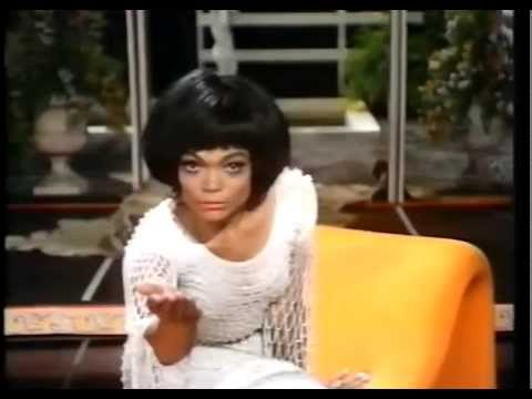 Lesson in how to play with the camera -  Eartha Kitt 1970