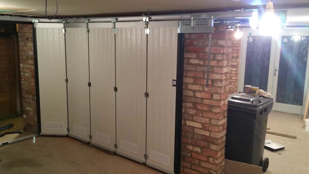 Ordinaire Side Sliding Garage Door