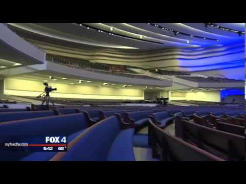 FOX 4 News Covers the New First Dallas Campus with Dr. Robert Jeffress (3/21/13)