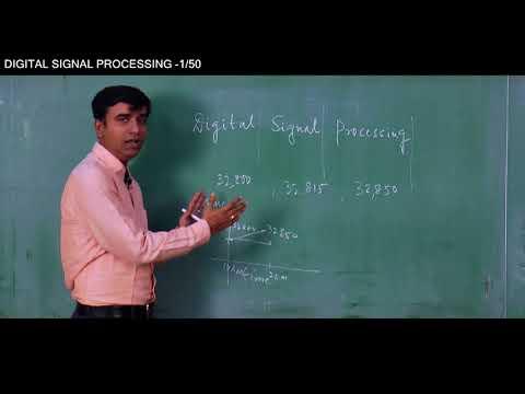 DIGITAL SIGNAL PROCESSING   PROF (Dr ) MALAY GANGAPADHYAY