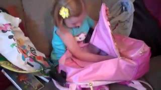 lily the little girl s priceless reaction for her birthday present