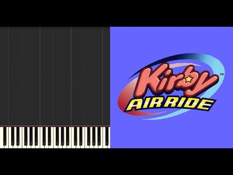 Kirby Air Ride   Item Bounce (Gamecube) Synthesia