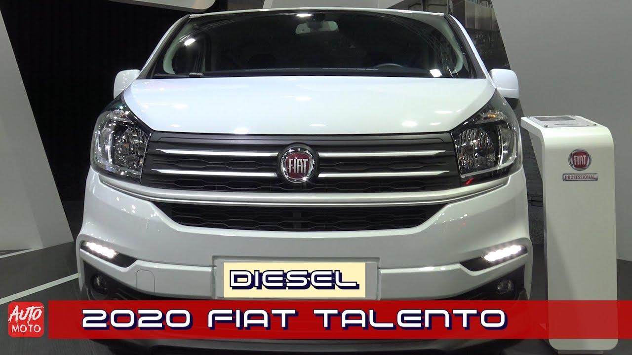 2020 Fiat Talento Diesel - Exterior Walkaround - 2019 ...
