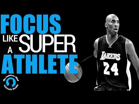 FOCUS LIKE A SUPER ATHLETE (HERE'S HOW)