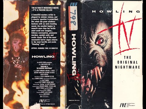 RANT  The Howling IV: The Original Nightmare 1988 Movie